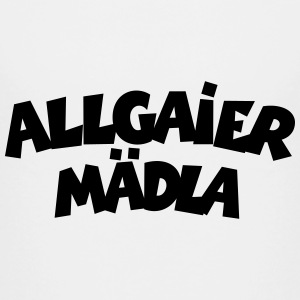 Allgaier Mädla Allgäu Teenager T-Shirts - Teenager Premium T-Shirt