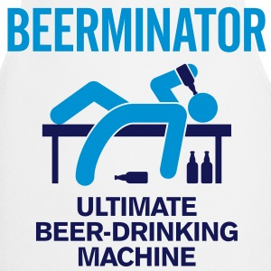 The Beerminator. Ultimate Drinking Machine!  Aprons - Cooking Apron