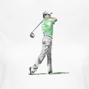 golf T-shirts - Vrouwen T-shirt