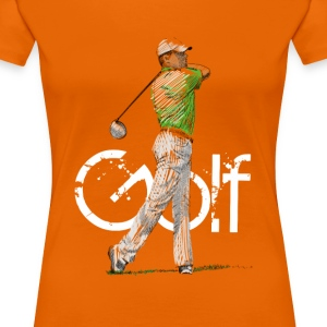 golf T-shirts - Vrouwen Premium T-shirt