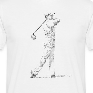 golf T-shirts - Mannen T-shirt