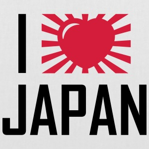I love Japan Sacs et sacs à dos - Tote Bag