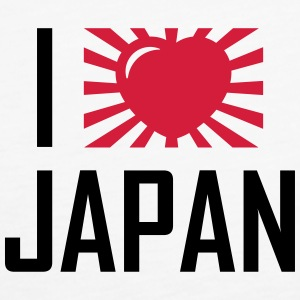 I love Japan Tops - Frauen Premium Tank Top