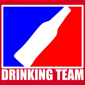 drinking team Tee shirts - T-shirt Homme
