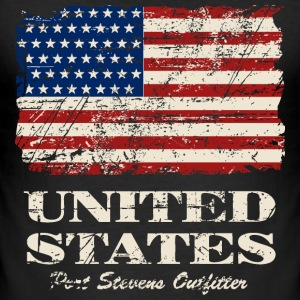 USA Flag - Vintage Look T-shirts - slim fit T-shirt