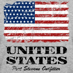 USA Flag - Vintage Look T-shirts - Vrouwen Bio-T-shirt