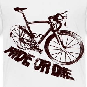 Ride or die vélo Tee shirts - T-shirt Premium Enfant