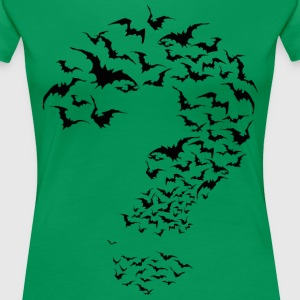 Riddler in Bats T-Shirt - Frauen Premium T-Shirt