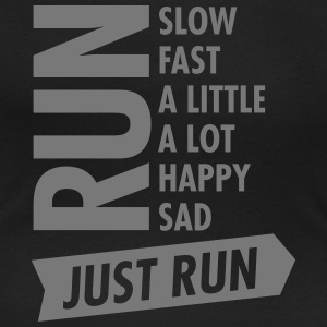 Just Run T-Shirts - Women's Scoop Neck T-Shirt