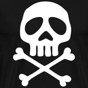Skull and crossbones, pirate, anime, space captain Tee shirts - T-shirt Premium Homme