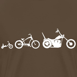 Chopper cykel Evolution T-shirts - Herre premium T-shirt