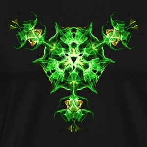 Force Shield, Power, Superhero, Fractal, Energy T-shirts - Mannen Premium T-shirt