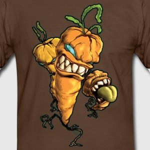 Carottes monstrueuses Tee shirt - T-shirt contraste Homme