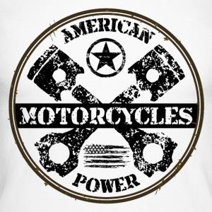 american motorcycles power 03 Manches longues - T-shirt baseball manches longues Homme