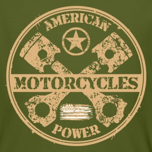 american motorcycles power 04 T-Shirts - Men's Organic T-shirt