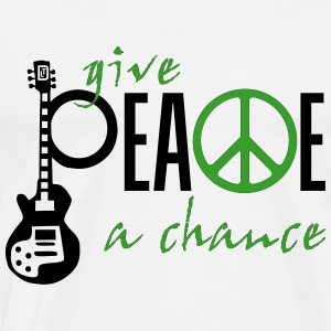 give_ peace_a_chance T-Shirts - Männer Premium T-Shirt