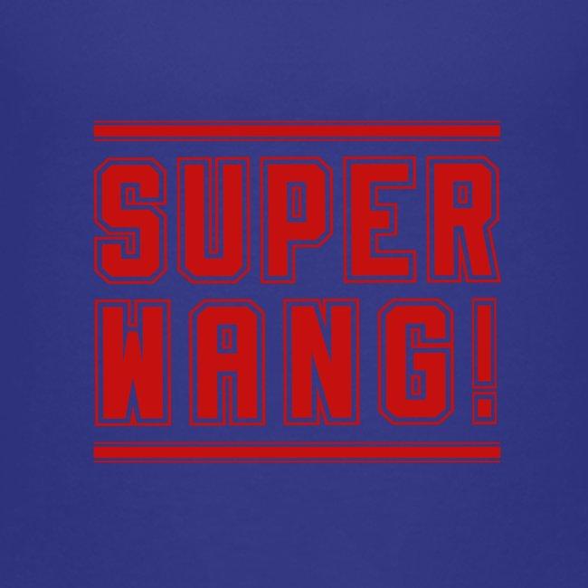 Kids T-Shirt SUPER WANG! Logo