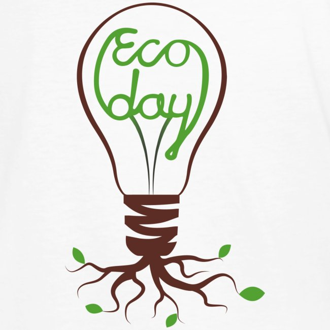 T-shirt Herr ECOday Ryggtryck