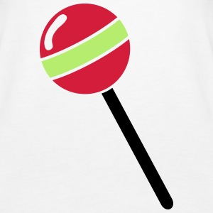 Lutscher, Lolli, Lollipop Topper - Premium singlet for kvinner