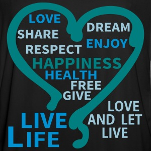Happiness Respect Dream Heart T-Shirts - Men's Football Jersey