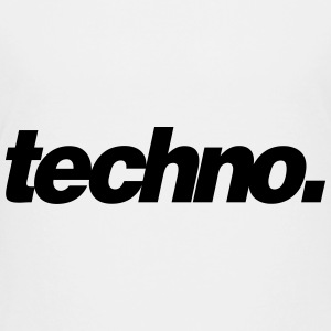 techno. - Teenage Premium T-Shirt