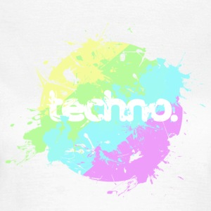 techno - Frauen T-Shirt
