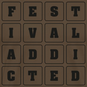 FESTIVAL ADDICTED - Männer Premium T-Shirt