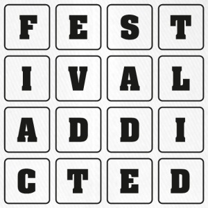 FESTIVAL ADDICTED - Flexfit Baseballkappe