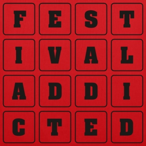 FESTIVAL ADDICTED - Stoffbeutel