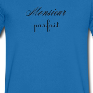 Monsieur Parfait T-Shirts - Men's V-Neck T-Shirt