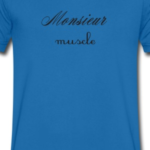 Monsieur Muscle Tee shirts - T-shirt Homme col V