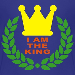 I am the king Tee shirts - T-shirt Premium Enfant