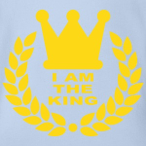 I am the king Tee shirts - Body bébé bio manches courtes