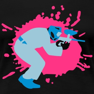 paintball_032015_c_3c T-Shirts - Frauen Premium T-Shirt