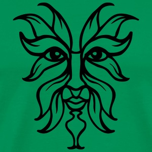 green man - Men's Premium T-Shirt