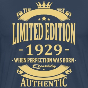 Limited Edition 1929 T-shirts - Mannen Premium T-shirt