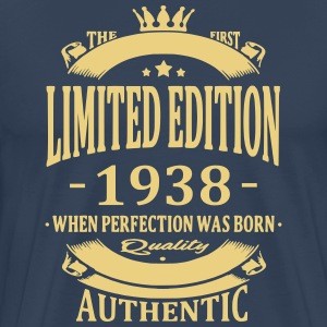 Limited Edition 1938 T-shirts - Mannen Premium T-shirt