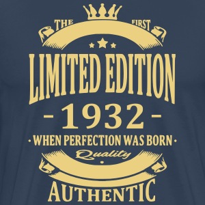 Limited Edition 1932 T-shirts - Mannen Premium T-shirt