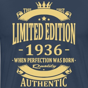 Limited Edition 1936 T-shirts - Mannen Premium T-shirt