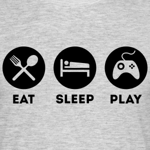 EAT SLEEP PLAY T-Shirts - Männer T-Shirt
