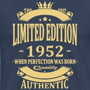 Limited Edition 1952 T-shirts - Mannen Premium T-shirt