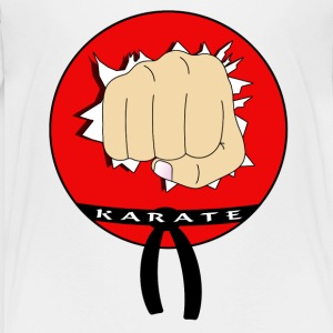 Karate - Teenager Premium T-Shirt