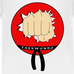 Tae kwon do - Teenager Premium T-Shirt