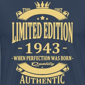 Limited Edition 1943 T-shirts - Herre premium T-shirt