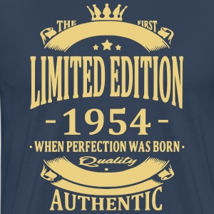 Limited Edition 1954 T-shirts - Mannen Premium T-shirt
