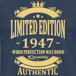 Limited Edition 1947 T-shirts - Herre premium T-shirt