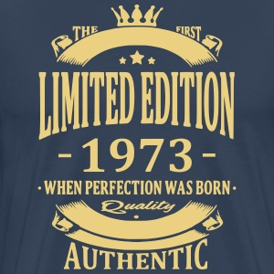 Limited Edition 1973 T-shirts - Mannen Premium T-shirt