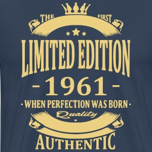 Limited Edition 1961 T-shirts - Herre premium T-shirt
