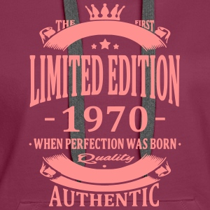 Limited Edition 1970 Hoodies & Sweatshirts - Women's Premium Hoodie