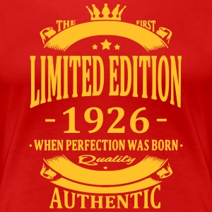 Limited Edition 1926 T-Shirts - Frauen Premium T-Shirt